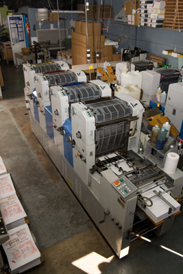 Printing Equipment Mark V Press